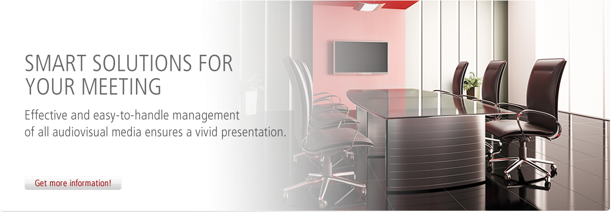 Smart solutions for your meeting
